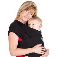 Boba Baby Carrier - Bob Wrap šatka - čierna - Šatka na nosenie detí