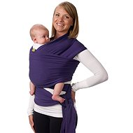 Boba Baby Carrier - Bob Wrap šatka - Purple - Šatka na nosenie detí