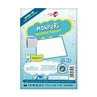 MonPeri Podložky veľ. M (25 ks) - Prebaľovacia podložka