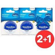 VASELINE Lip Therapy Original 3× 20 g - Balzam na pery