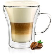 BANQUET DOBLO Double-walled Glass Mug, 200ml, 4 pcs - Thermo-Glass