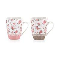 BANQUET Ceramic Mug PINK FLOWER 340ml, mixed designs - Mug
