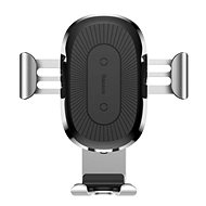 Baseus Wireless Charger Gravity Car Mount Silver - Bezdrôtová nabíjačka