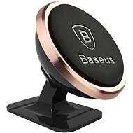 Baseus 360-degree Rotation Magnetic Mount Holder(Paste Type) Rose Gold - Mobile Phone Holder