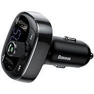 Baseus T typed S-09 wireless MP3 car charger Black - Nabíjačka do auta