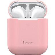 Baseus Super Thin Silica Gel Case pre AirPods 1/2 gen Pink - Puzdro