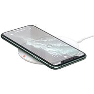 Baseus Cobble Wireless Charger 15W White - Bezdrôtová nabíjačka