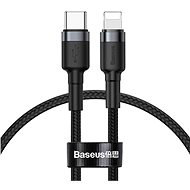 Baseus Halo Data Cable USB-C to iPhone Lightning PD 18 W 1 m Black - Dátový kábel