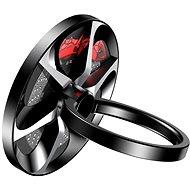Baseus Wheel Ring Bracket for Smartphones and Tablets Black - Držiak na mobil