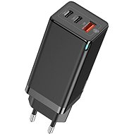 Baseus GaN Quick Travel Charger 65W Black - Nabíjačka
