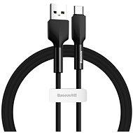 Baseus Silica Gel Cable USB to Type-C (USB-C) 2 m Black - Dátový kábel
