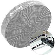 Organizér káblov Baseus Rainbow Circle Velcro Straps 1 m Gray - Organizér kabelů