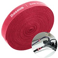 Organizér káblov Baseus Rainbow Circle Velcro Straps 3 m Red - Organizér kabelů
