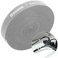 Organizér káblov Baseus Rainbow Circle Velcro Straps 3 m Gray - Organizér kabelů