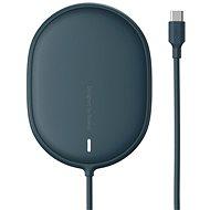 Baseus Light Magnetic Wireless Charger na iPhone 12 Series Blue - Bezdrôtová nabíjačka