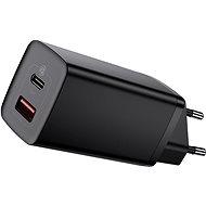 Nabíjačka do siete Baseus GaN2 Lite Quick Charger USB + USB-C 65 W  Black