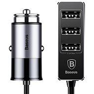 Baseus Enjoy Together 4× USB Patulous Car Charger 5.5 A Dark gray