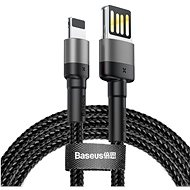 Baseus Cafule Lightning Cable Special Edition 2.4 A 1 M Gray+Black