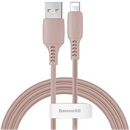 Baseus Colourful Lightning Cable 2.4 A 1.2 m Pink