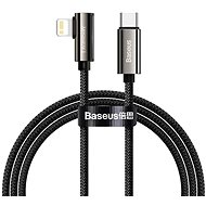 Baseus Elbow Fast Charging Data Cable Type-C to iP PD 20 W 2 m Black - Dátový kábel