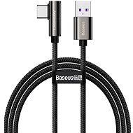Baseus Elbow Fast Charging Data Cable USB to Type-C 66 W 2 m Black - Dátový kábel