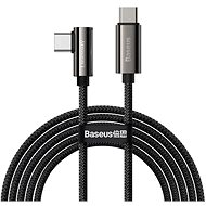 Baseus Elbow Fast Charging Data Cable Type-C to Type-C 100 W 1 m Black - Dátový kábel