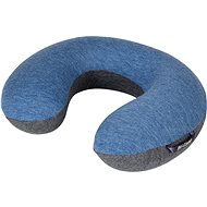 Bo-Camp Neck pillow Memory Foam blue/anthracite