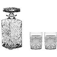 Bohemia Crystal Whisky súprava 3 ks MADISON - Whisky set