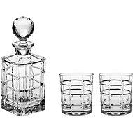 Bohemia Crystal Whisky súprava 3 ks TIMESQUARE - Whisky set