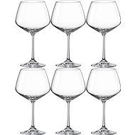 Bohemia Crystal Sklenice na červené víno 580 ml GISELLE 6ks - Poháre na víno
