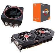AMD akčný balíček 3: VGA + CPU + Chladič - Set