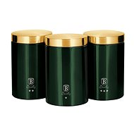 BerlingerHaus Emerald Collection sada 3ks - Sada dóz