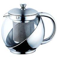 Bergner Kanvica na čaj nerez/sklo 0,75 l