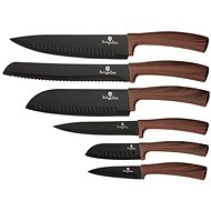 BerlingerHaus Súprava nožov s nepriľnavým povrchom Forest Line 6 ks - Sada nožov