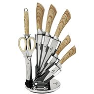 BerlingerHaus Sada nožov v stojane s nepriľnavým povrchom Forest Line 8 ks - Sada nožov