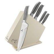 BerlingerHaus súprava nožov v drevenom stojane nerez 6ks BH-2253 - Súprava nožov