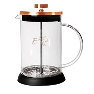 BerlingerHaus Kanvička na čaj a kávu French Press 350 ml Rosegold Metallic Line - Čajová kanvica