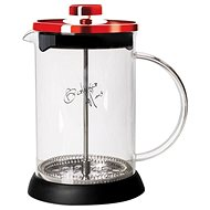 BerlingerHaus Kanvička na čaj a kávu French Press 600 ml Burgundy Metallic Line - Čajová kanvica