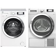 Beko WTV 8735 XC0ST + BEKO DPY 8506 GXB1 - Set práčka a sušička