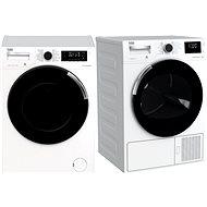 BEKO WTV 8744 CSXWST + BEKO DH8544CSARX - Set práčka a sušička