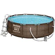 BESTWAY Steel Pro MAX Deluxe Series 3.66 m x 1.00 m - Bazén