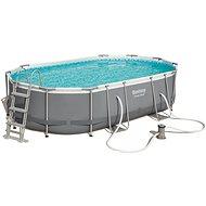 BESTWAY Oval Pool Set 4,88 m × 3,05 m × 1,07 m - Bazén