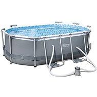 BESTWAY Oval Pool Set 3,00 m × 2,00 m × 84 cm - Bazén