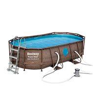 BESTWAY Oval Pool Set 4,27 m × 2,50 m × 1,00 m - Bazén
