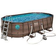 BESTWAY Oval Pool Set 5,49 m × 2,74 m × 1,22 m - Bazén