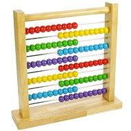 Didaktická hračka Drevené počítadlo - Didaktická hračka