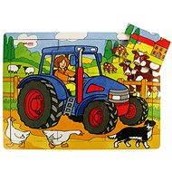 Drevené puzzle – Traktor - Puzzle