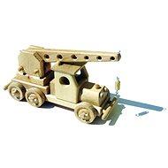 Drevené hračky - Autožeriav - Drevený model
