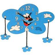 Detské drevené hodiny – Mrak s obláčikmi - Hodiny do detskej izby