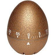TFA Mechanická minútka 38.1033.53 – vajíčko popraskané zlaté